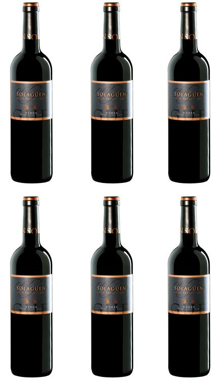 Vino Tinto Solagüen Gran Reserva Caja 6 Botellas