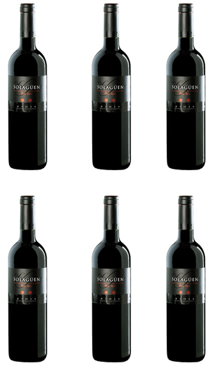 Vino Tinto Solagüen Tempranillo Y Garnacha Caja 6 Botellas