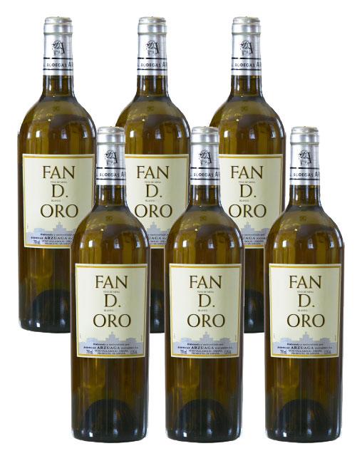 Vino Blanco Fan D. Oro de Arzuaga Caja 6 Botellas