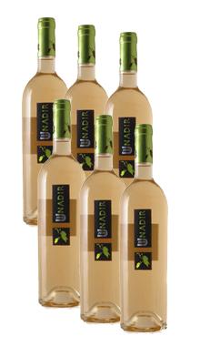 Vino Blanco Pago de Las Encomiendas Unadir , 6 Botellas