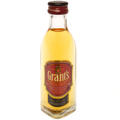 Whisky Escoces Grant`s Miniatura 5cl (caja de 192 Unidades)
