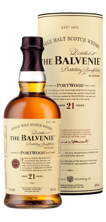 Whisky The Balvenie 21 Años