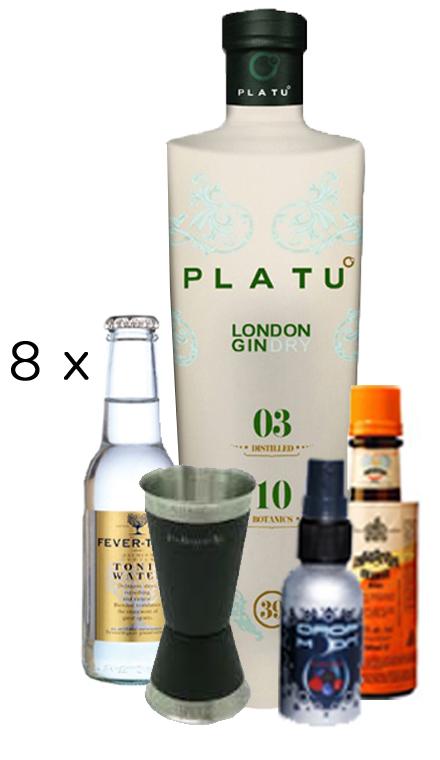 Lote Gin Tonic Platu Mas Accesorios