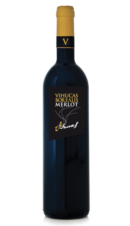 Vino Tinto Vihucas Borealis Merlot