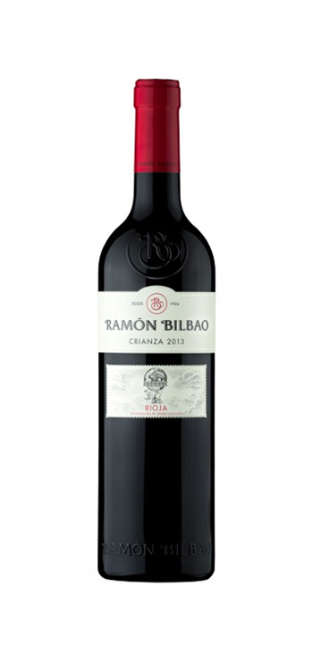 Vino Tinto Ramon Bilbao Crianza 0,5L