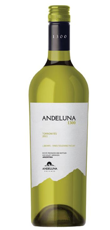 Vino Blanco Andeluna 1300 Torrontes Blanco