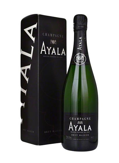 Champagne Ayala Brut Majeur - Con Estuche