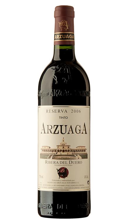 Vino Tinto Arzuaga Reserva Botella de 9 Litros