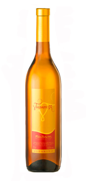 Vino Blanco Albariño Valdamor