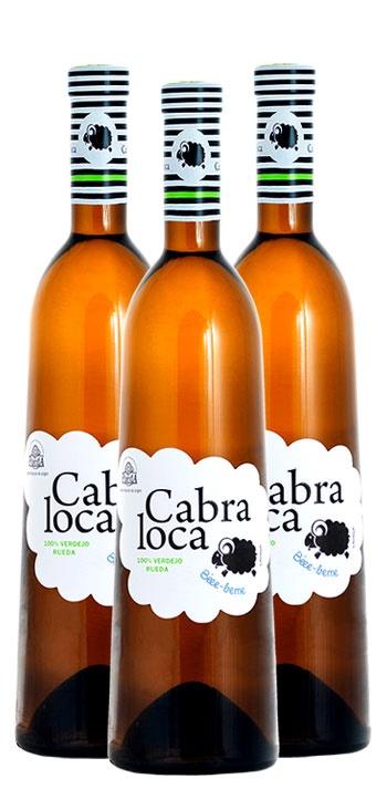 Pack Vino Blanco Cabra Loca