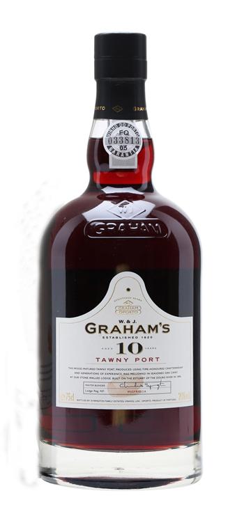 Vino Generoso Graham's Oporto Tawny 10 años