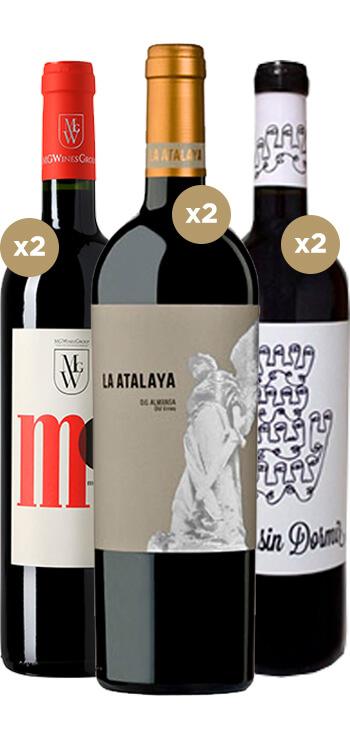 Pack Mejores Vinos Monastrell