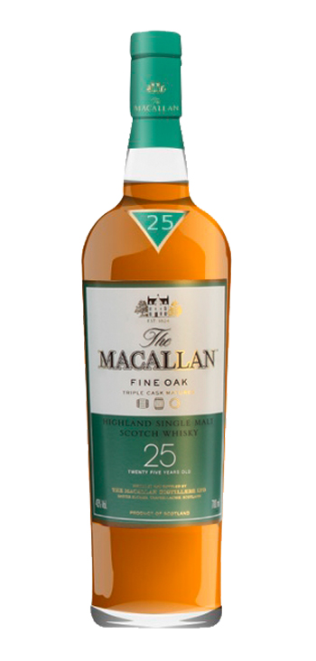 Whisky Macallan 25 Years Old