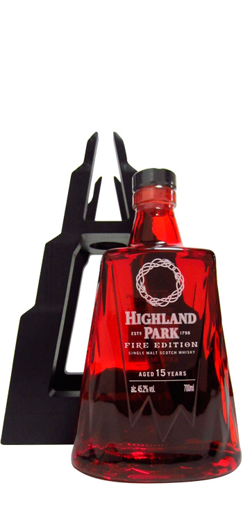 Whisky Highland Park Fire