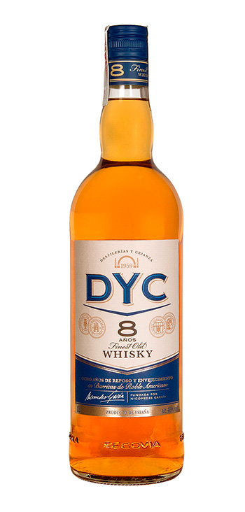 Whisky DYC 8 Años 100cl