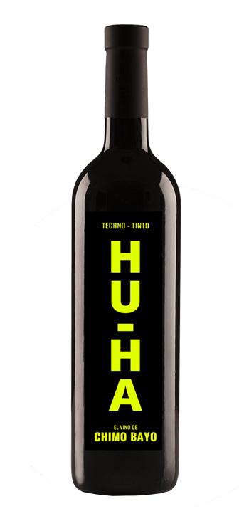 Vino Tinto HU-HA Premium - El vino de Chimo Bayo