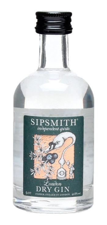 Ginebra Sipsmith London Dry Gin Miniatura