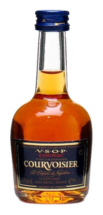 Cognac Courvoisier VSOP Miniatura