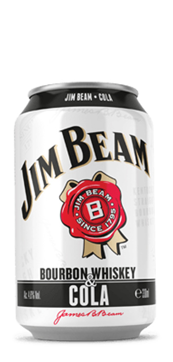 Lata Jim Beam RTD