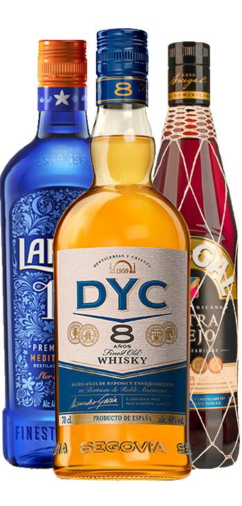 Pack Trío de Destilados