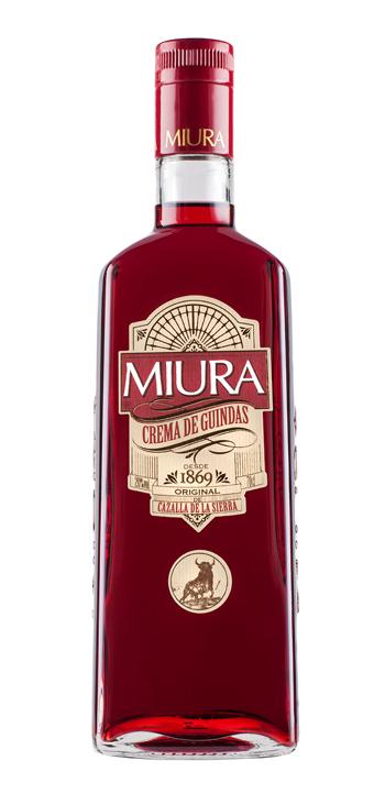 Licor Crema de Guindas Miura