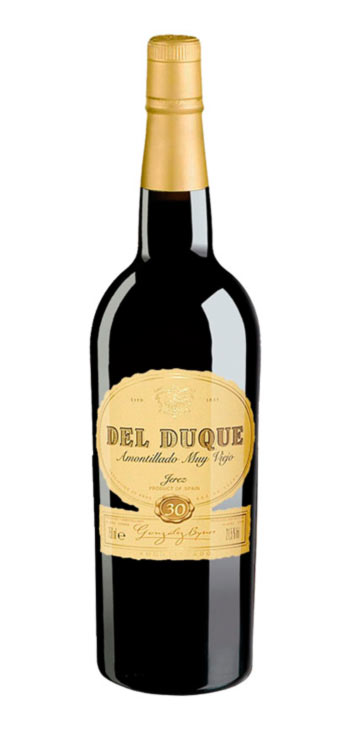 Vino Generoso Amontillado del Duque 375ml