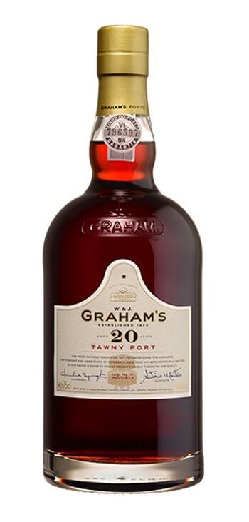 Vino Generoso Oporto Graham's Tawny 20 años