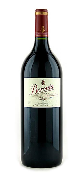 Vino Tinto Beronia Crianza Magnum 1,5L.
