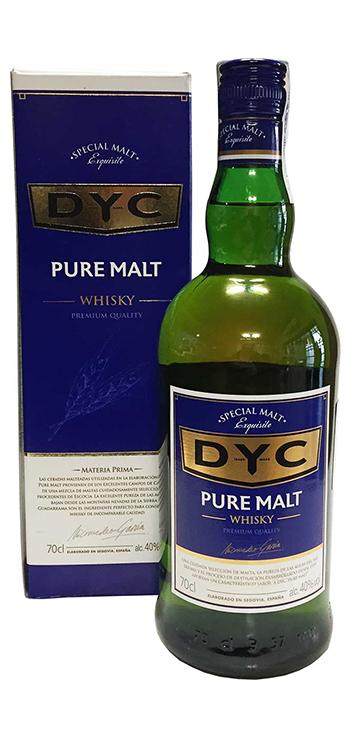 Whisky DYC MALTA 0.7 L