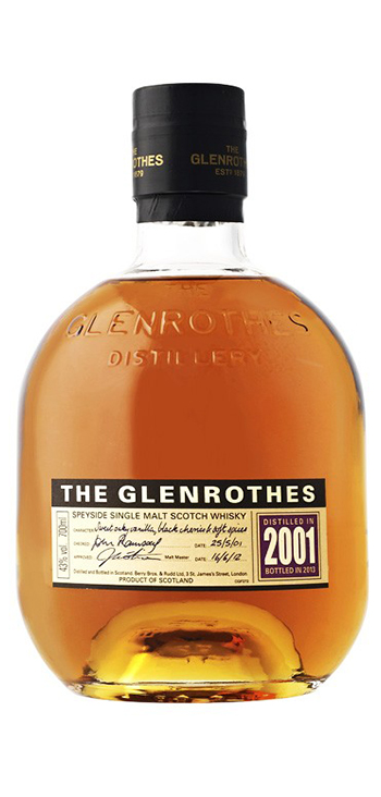 Whisky Glenrothes 2001