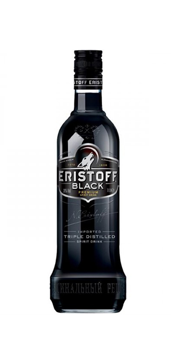 Vodka Eristoff Black 0,70L