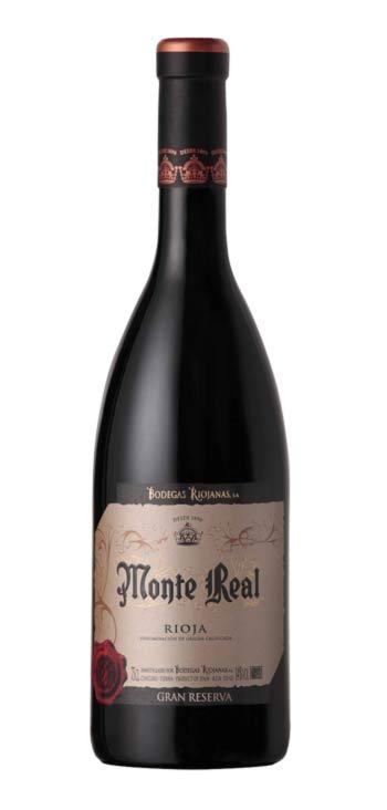 Vino Tinto Monte Real Gran Reserva