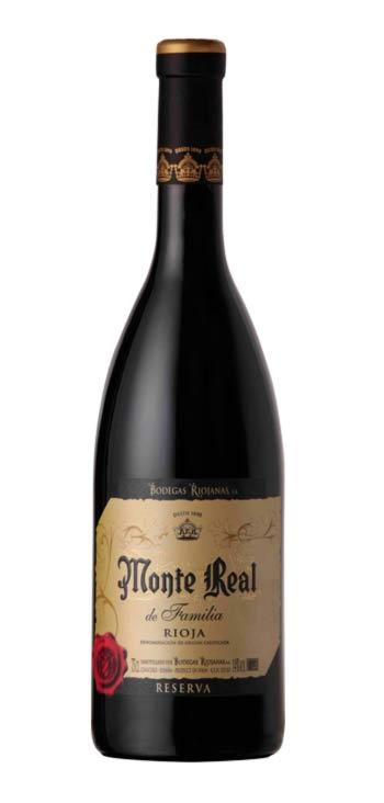 Vino Tinto Monte Real Reserva de Familia