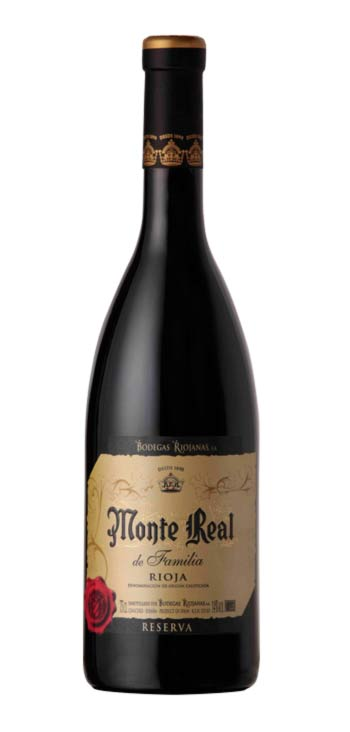 Vino Tinto Monte Real Familia Reserva Magnum