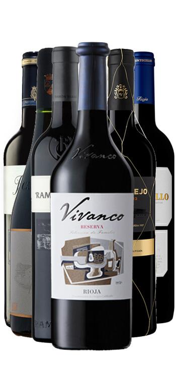 Pack de 6 vinos D.O. Rioja