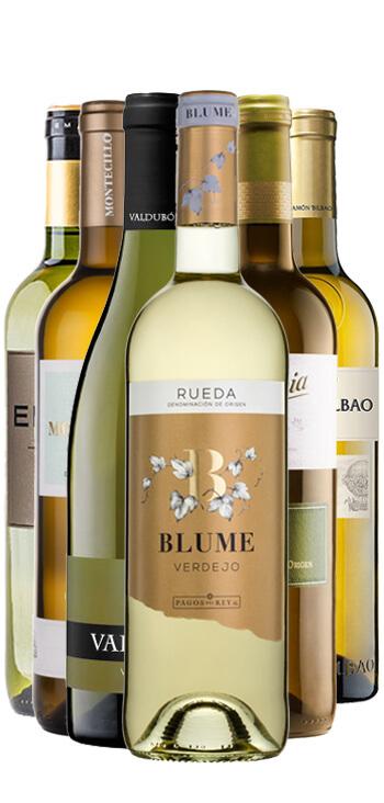 Pack de 6 Vinos D.O. Rueda