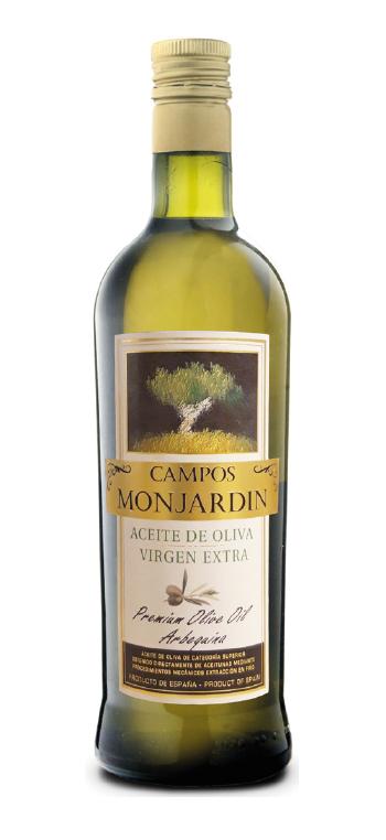 Aceite de Oliva Campos Monjardín Premium Arbequina 750ml