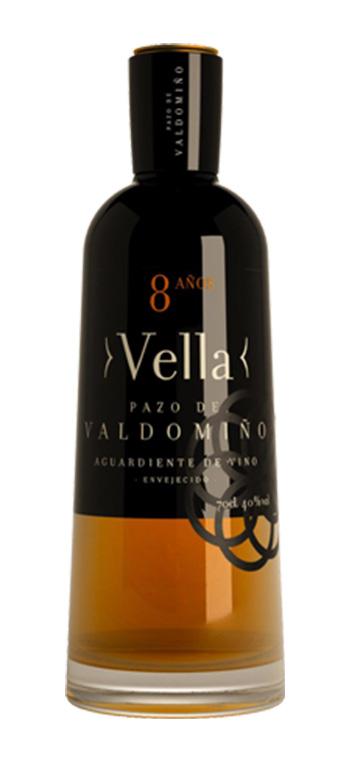 Aguardiente de vino Vella Pazo de Valdomiño