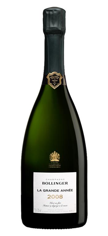 Champagne Bollinger La Grande Année Magnum Sin Estuche