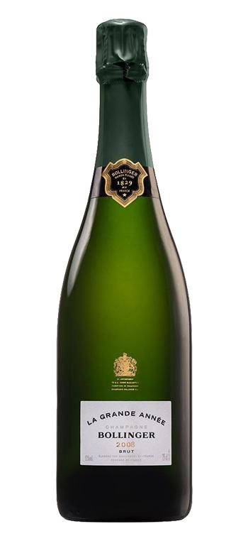 Champagne Bollinger La Grande Année Sin Estuche