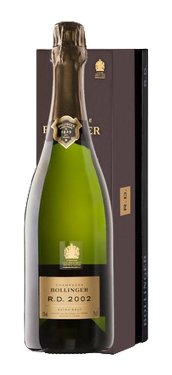 Champagne Bollinger RD con Cofre