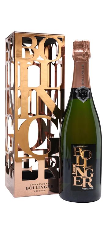 Champagne Bollinger Rosé Limited Edition 2006 con Estuche