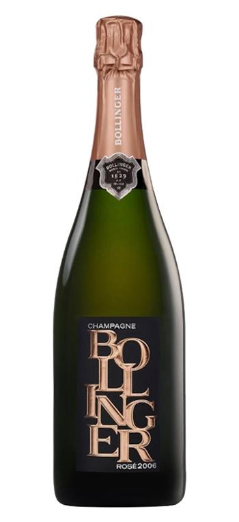 Champagne Bollinger Rosé Limited Edition 2006 Sin Estuche