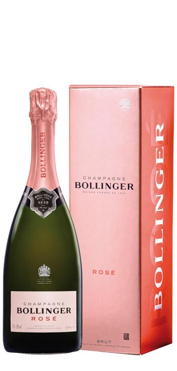 Champagne Bollinger Rosé Con Estuche