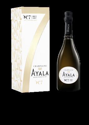 Champagne Ayala Nº7 Brut 2007 con estuche