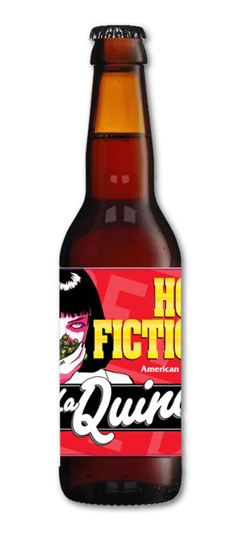 Cerveza Artesana La Quince Hop Fiction American Pale Ale