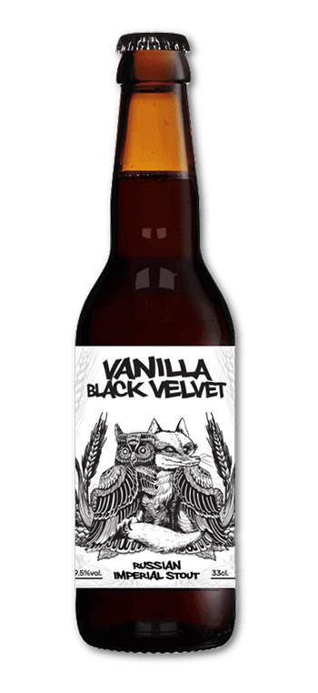 Cerveza Artesana La Quince Vainilla Black Velvet Russian Imperial Stout