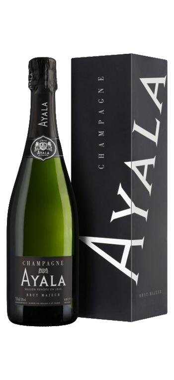 Champagne Ayala Brut Majeur Magnum con Estuche