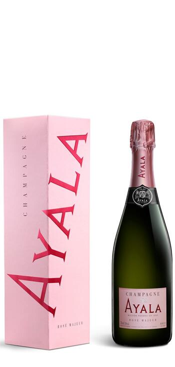 Champagne Ayala Rosé Majeur con Estuche