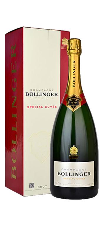 Champagne Bollinger Cuvée Spécial Magnum con Estuche